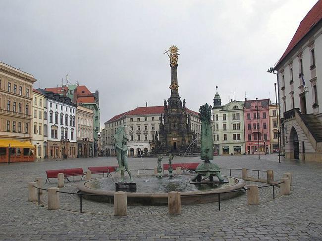 Оломоуц - город в Чехии