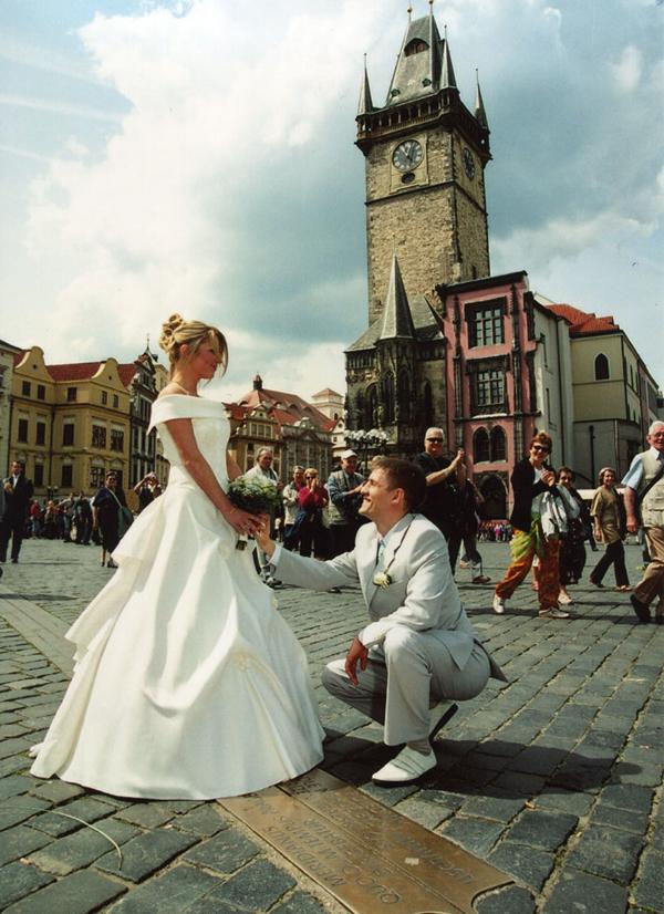 Прага - Свадьба - фото