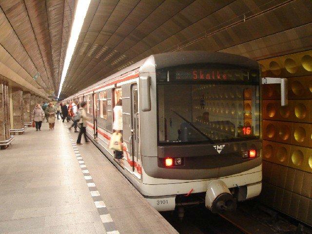 Метро в Праге - фото