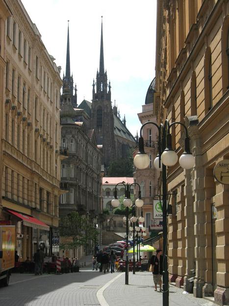 Брно - фото улиц