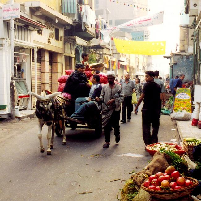 Улицы Каира - - туры в Каир (фото flickr.com)