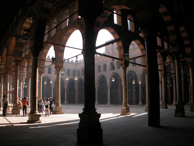 Мечеть султана Насира  вид из нутри - туры в Каир (фото flickr.com)