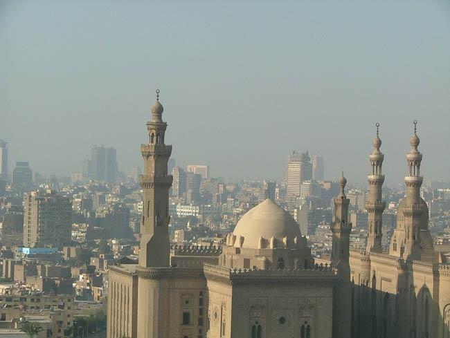 Вид на Каир с высоты - туры в Каир (фото flickr.com)