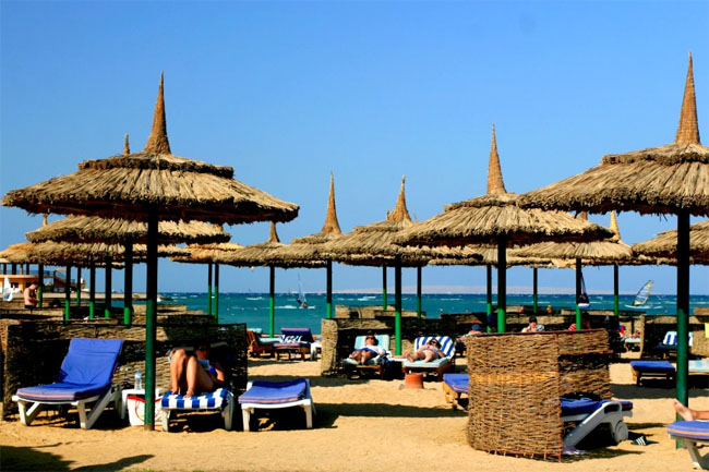 Хургада - пляж