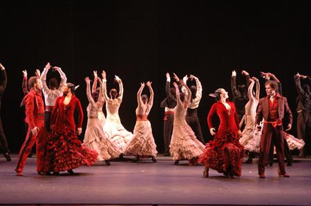 Танец фламенко - Испания - фото