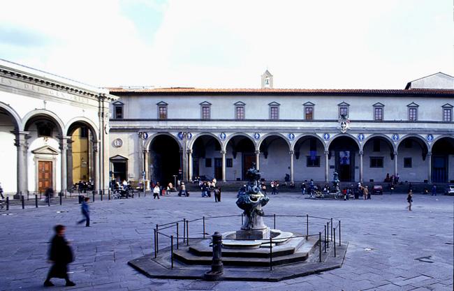 Площадь Сантиссима-Аннунциата  - фото