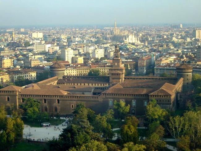 Окрестности Милана - фото