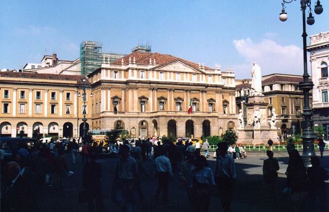 Ла Скала - театр в Милане - фото
