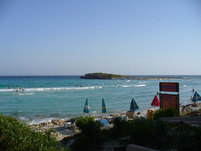 Пляж - Айя - Напа - фото
