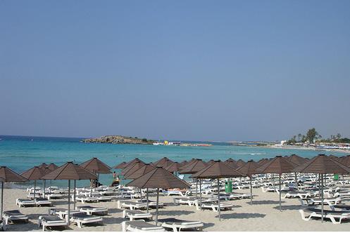 Айя - Напа - Кипр - пляж - фото