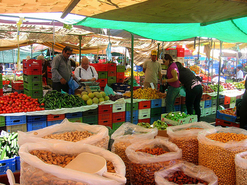 Рынок в Никосии - фото