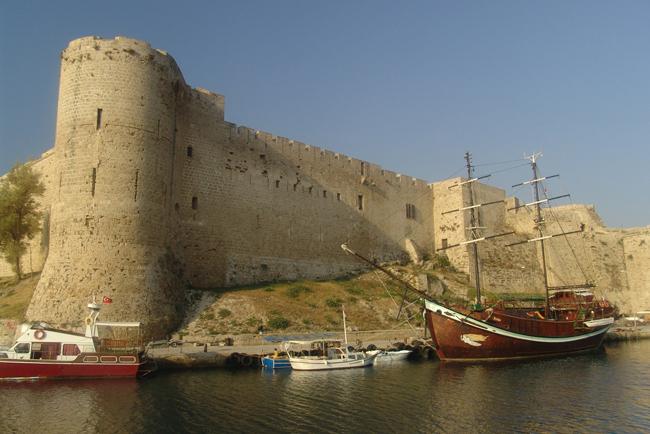 Киренея - замок - Кипр - фото