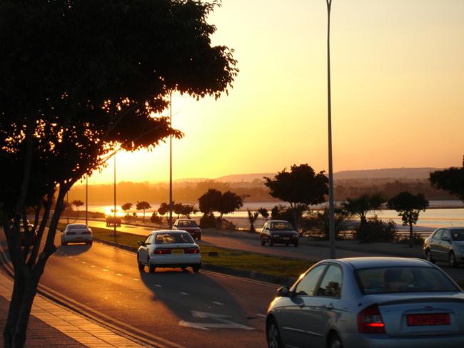 Кипр - Ларнака - дороги - фото