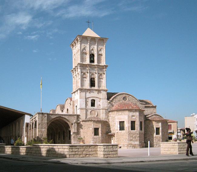 Кипр - Ларнака - Церковь Святого Лазаря - фото