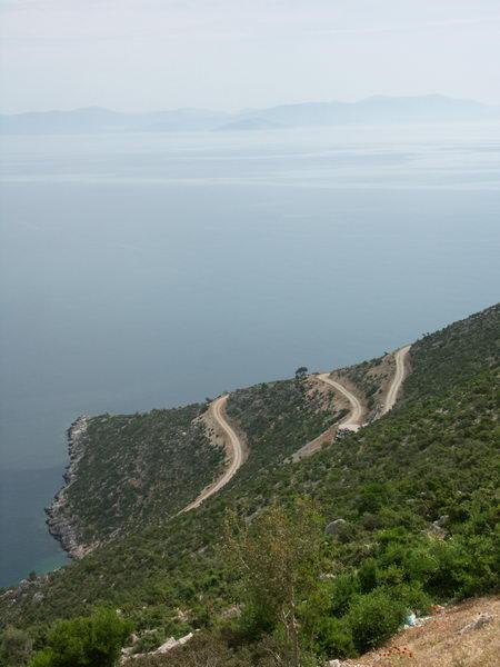 Греция дорога фото