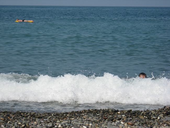 Адлер - пляж - фото