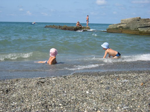 Пляж - Адлер - фото