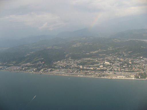 Адлер - пляжи и побережье - фото