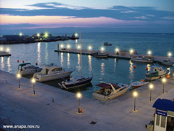 Анапа - фото курорта - пляжи