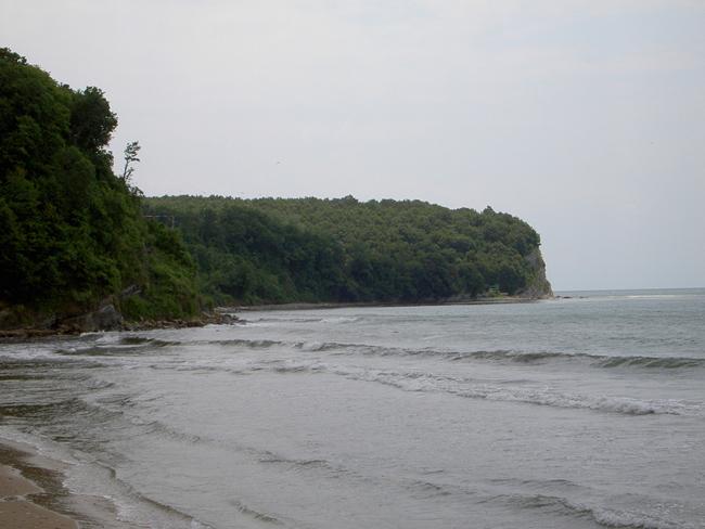 Туапсе - фото пляжей - курорта