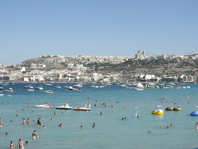 Мальта пляжи и отели 100