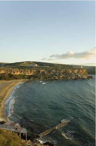Мальта - пляж Ghajn Tuffieha - фото