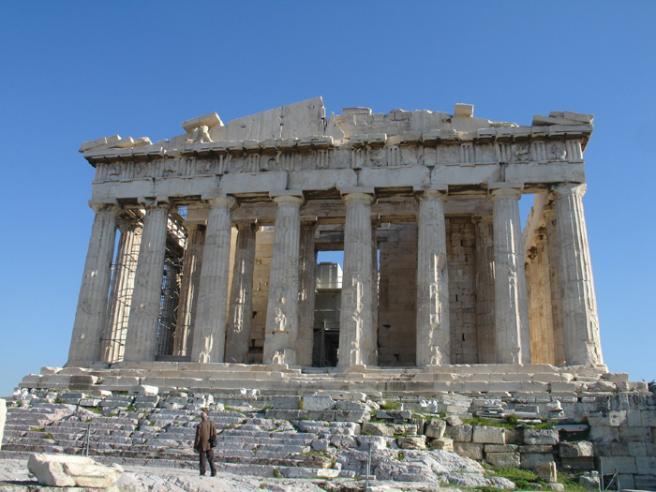 Парфенон Центральный храм Акрополя фото