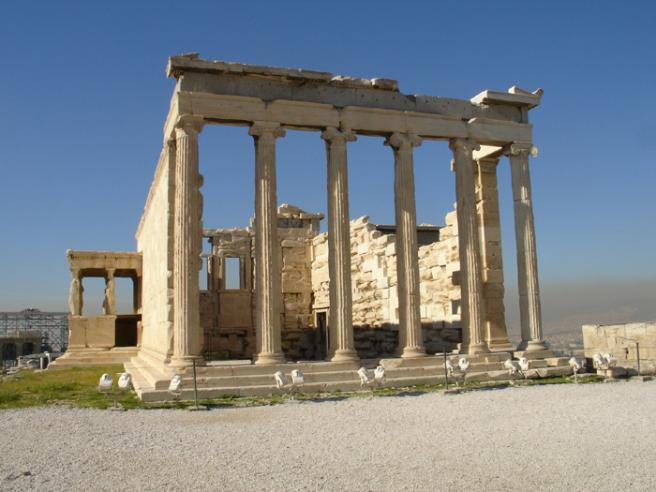 Эрехтейон. Еще один храм на Акрополе