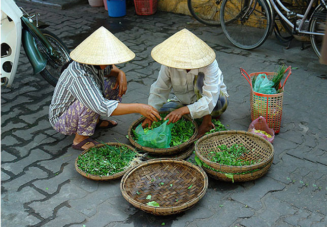 Одежда Вьетнамцев - фото
