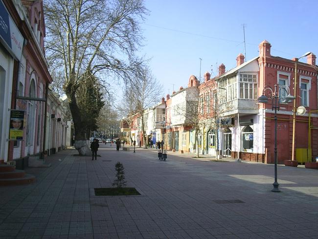 Гянджа - улицы города - фото ru.wikipedia.org