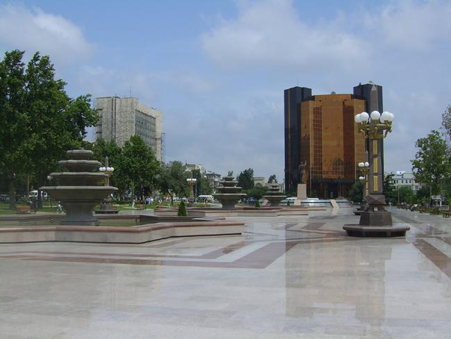 Национальный банк Азербайджана в Баку - фото