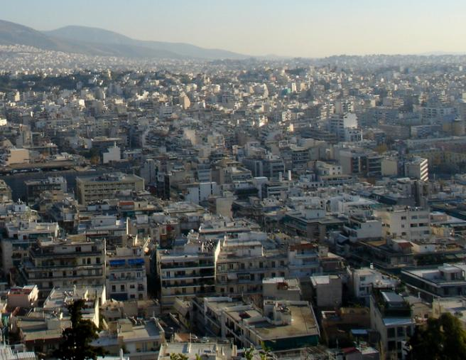 Афины. панорамный снимок