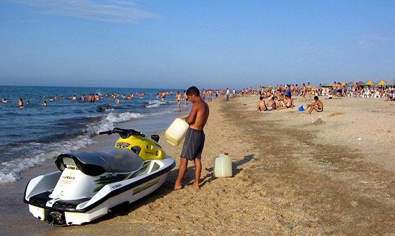 Пляжи Баку - фото sapunov.livejournal.com