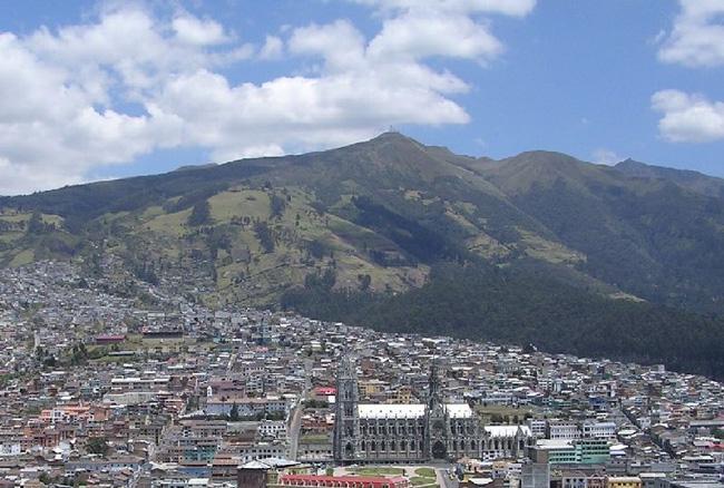 Кито - столица Эквадора - фото