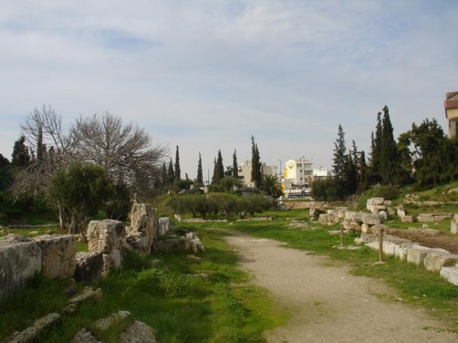 Священный путь. Греция. Одна из самых древних дорог Афин