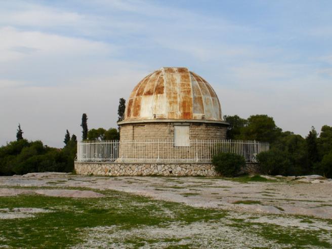 Греция. Афинская обсерватория Тоже располагается на этом холме.