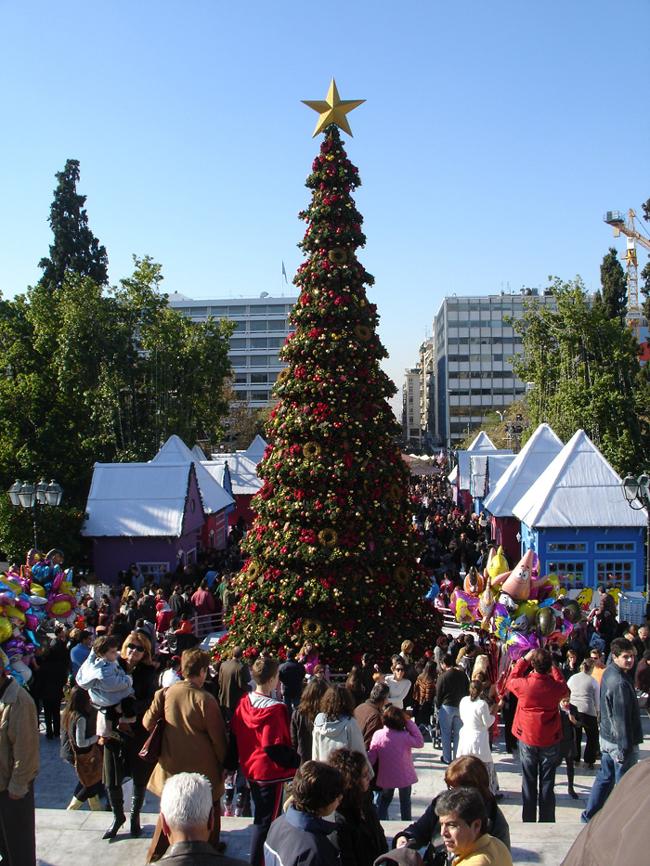 Греция. Рождество. Фото