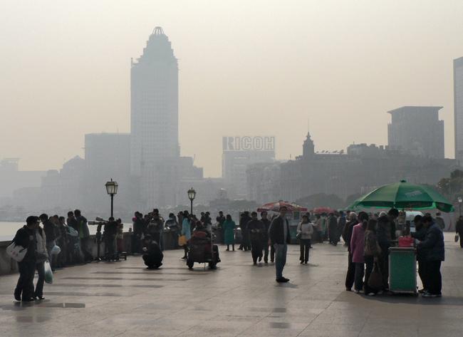 Шанхай - набережная - фото