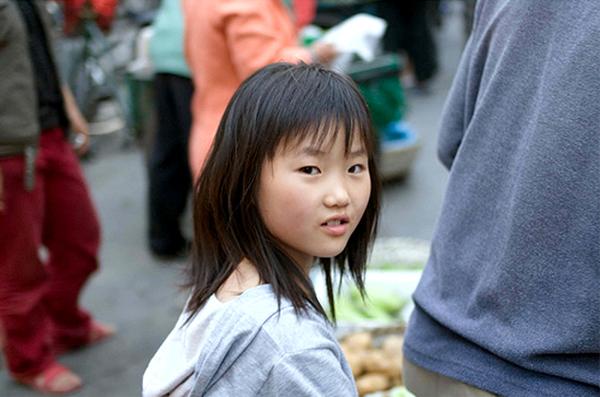 Китай - Шанхай - люди - фото