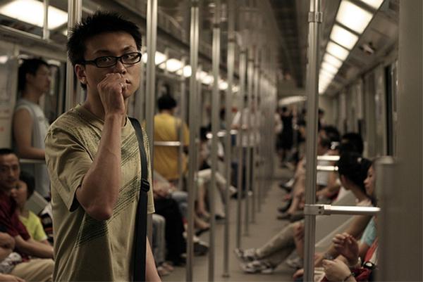 Китай - метро Шанхай - фото