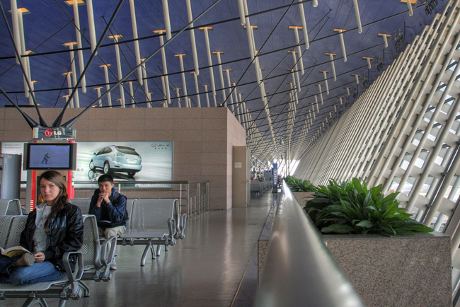 Китай - Шанхай - аэропорт - фото