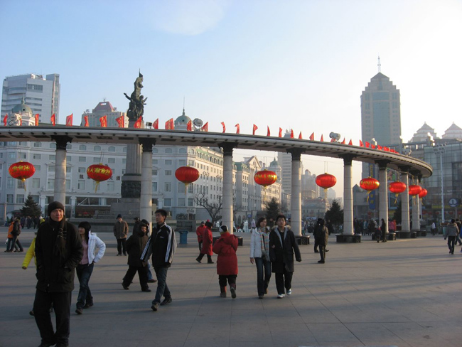 Китай - Харбин - фото города
