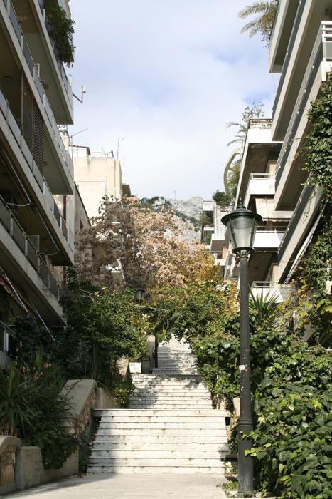 Греция. Афины. Холм Ликавитус.
