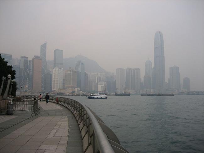 Гонконг - набережная Гонконга - фото