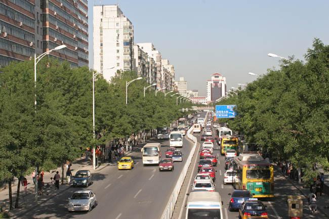 Пекин - фото улиц города - venividi.ru