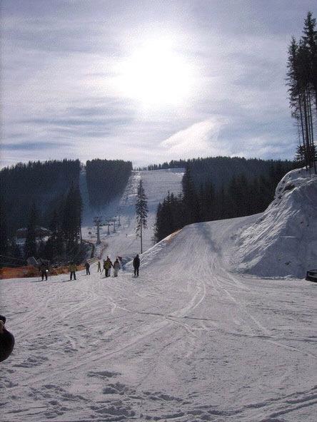 Vorohta skiing