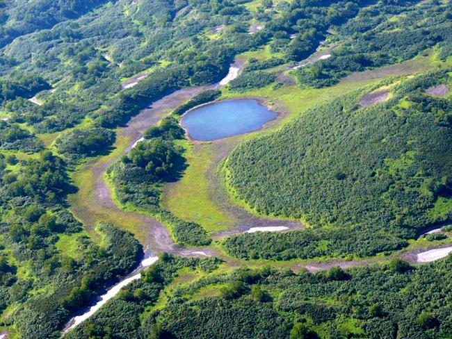 Камчатка - вулканы - фото