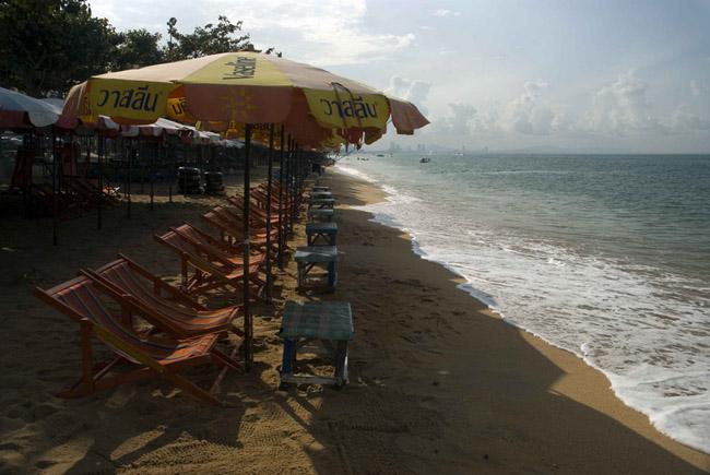 Таиланд - Паттайя - пляж - фото