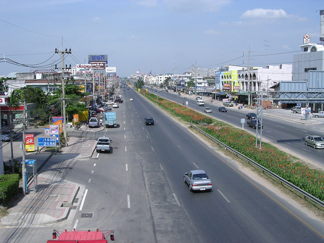 Паттайя - Таиланд - улицы города - фото