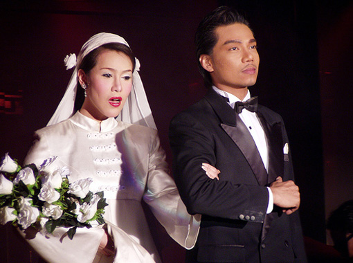 Свадебный наряд в Таиланде - фото